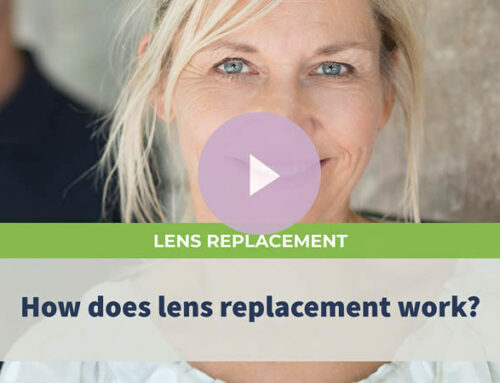 How does lens replacement work?