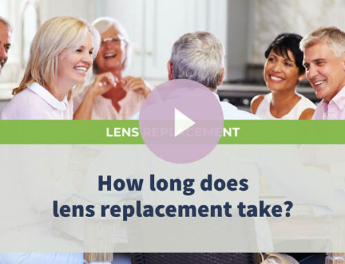 How long does lens replacement take?