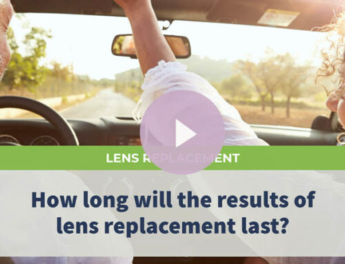 How long will the result of lens replacement last?