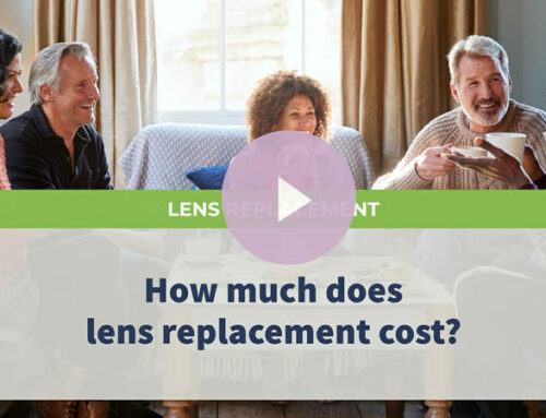How much does lens replacement cost?