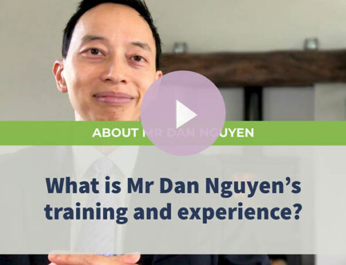 What is Dan Nguyen's training and experience?